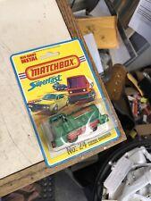 Matchbox #24 Superfast Diesel Shunter Locomotive 1978 Lesney on Blister Card