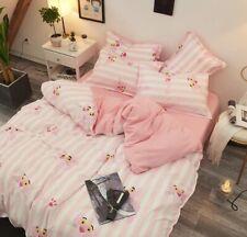New Pink Panthers 4pcs bedding set Duvet/quilt pillowcase cover FULL QUEEN KING