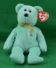Ariel TY Beanie Baby Teddy Bear MWMT 1981-88 In Memory Glaser Pediatric Aids