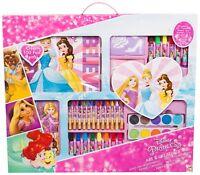 Disney Princess Mega 100 Piece + Art & Creativity Set Painting Toy In Carry Box