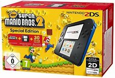 Nintendo 2ds Noir Incl. Super Mario Bros 2