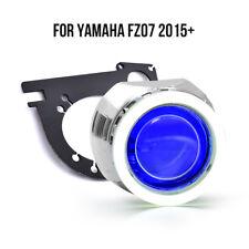 KT LED Halo Eye HID Projector Lens for Yamaha FZ 07/MT 07 2015 2016 2017+ Blue