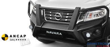 New Genuine Nissan Navara D23 Steel Bull bar to suit WIDE WHEEL NAVARA
