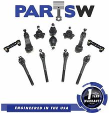 95/99 Chevrolet Silverado Ball Joint Rack Tie Rod Ends Pitman Idler Arm 4Wd New