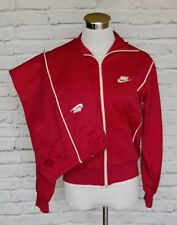 Vintage NIKE Tracksuit Jacket Pants Polyester Track Jogging Suit Medium #11