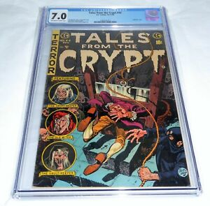 Tales From the Crypt #44 Universal Grade Comic 7.0 Guillotine Cover Headless 💎