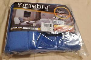"""Yimobra Memory Foam Toilet Mat Size 30"""" x 40"""" Blue X0020KH2DR"""
