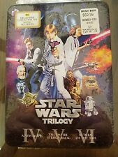 Star Wars Trilogy (6-Disc DVD) [NEVER OPENED/RARE/OOP/] Best Buy Exclusive Tin