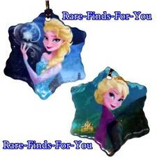 Disney Park Frozen Princess Anna Elsa Two-Sided Christmas Holiday Ornament (NEW)