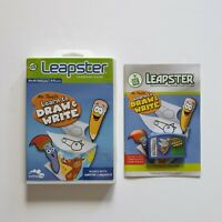 Leapfrog Leapster Mr.Pencils Learn to Draw & Write Game Works with 1 & 2