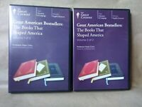 The Great Courses, Great American Bestsellers: Books That Shaped America,12 CD's