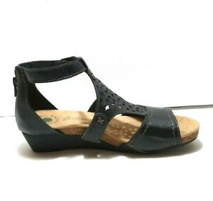 NEW Earth Origins Hermia Women's Size 7.5 M Gladiator Strappy Wedge Sandals