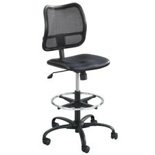 Safco Products Vue Mesh Extended-Height Drafting Chair 3395BL