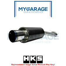 HKS USA JZA80 2JZGTE C/M Carbon Ti Exhaust System for 93-98 Toyota Supra Turbo