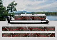 """Naked Feet Only"" Boat vinyl Decal//Car Truck Pontoon Crownline Cobalt"