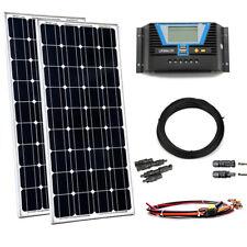 300W Solaranlage Solar Bausatz Inselanlage Set Garten Camping Wohnmobil 12V USB