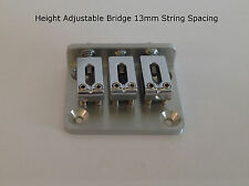 CIGAR BOX GUITAR 3 STRING HEIGHT ADJUSTABLE BRIDGE 48mmx38mmx13mm