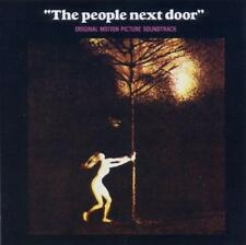 THE PEOPLE NEXT DOOR - SOUNDTRACK (New Sealed) Rock CD Inc BeadGame Glass Bottle