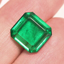 5.6Ct Colombian Emerald Octagon Collection Color Enhanced QMDa467