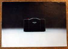 Cámara espía Original Minox 35 el sistema de Miniatura folleto de ventas Plegable