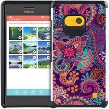 For Nokia Lumia 730 735 Dual Layer Protective Phone Cover Hybrid Slim Armor Case
