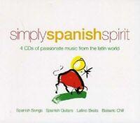 SIMPLY SPANISH SPIRIT 4 CD NEW