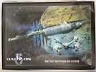 Babylon 5 Poster With 74 Cast & Crew Original Hand Signed Signatures Large Frame