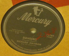 Dansero RICHARD HAYMAN and His Orchestra Flexible 78 Phonograph Record