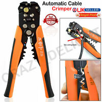 Automatic Self Adjustable Cable Wire Crimper Crimping Tool Stripper Plier Cutter