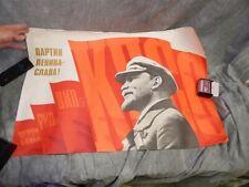 1982 Russian Communist Propaganda Poster