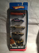 HOT WHEELS 5er PACK / SET / COFFRET AUTO CAR SET GM 5 BOX NEU NEW MATTEL