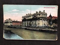 Vintage Real Photo Postcard #TP1644: Greenwich Hospital: Posted 1910