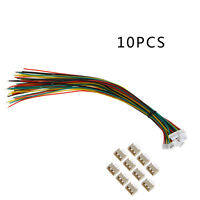 Mini. Micro 1.25mm JST T-1 4-Pin Connector with Wire x 10 sets Q