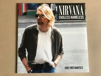 NIRVANA  Endless Nameless: 1992-1993 Rarities  Vinyl lp WLVR020 rare live tracks