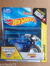 Hot Wheels Monster Jam #35 JURASSIC ATTACK EDGE GLOW Figure Series
