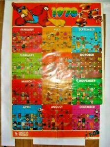 San Diego Famous Chicken / aka KGB SD Chicken 1978 calendar