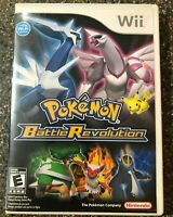 Pokemon Battle Revolution (Nintendo Wii) Clean & Tested Working - Free Shipping