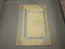 Vintage 1940 Superior Song Book LUCIE E. CAMPBELL CHRISTIAN RELIGION SERVICES