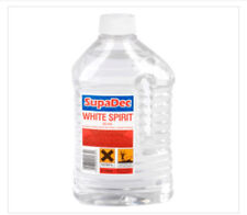 White Spirit- Supadec 2 Litre- Used For Paint Thinning and Brush Cleaner 2l