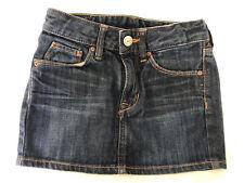 H&M Blue Cotton Denim Girls Skirt Age 3-4 Years