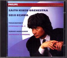 Seiji Ozawa: Tchaikovsky Symphony No. 4 Rimsky-Korsakov capriccio Espagnol CD