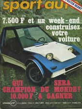 SPORT AUTO n°133 02/1973MONTE CARLO HISTOIRE MATRA V12 SHADOW DN1 OPEL COMODORE*