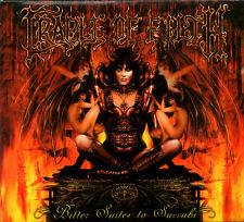 CRADLE OF FILTH bitter suites to succubi CD w/video digipak 2004 Black Metal