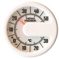 Historisches Bimetall Thermometer Reliefskala HR 469577 justierbar selbstklebend