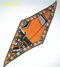 EMILIO PUCCI orange COSMO Cashmere blend Diamond neck scarf NWT Authentic!