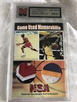 NSA Michael Jordan/Kobe Bryant Dual Jersey