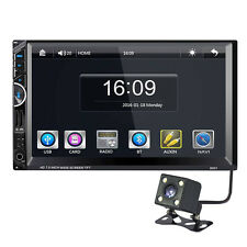 """2 Din 7"""" Car Audio Stereo MP5 Player FM GPS Rearview Camera + Southeast Asia Map"""