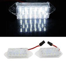 2Pcs For Mitsubishi Lancer X EVO Error Free LED Number License Plate light Lamp