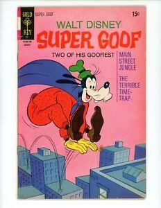 Super Goof#18 1971 VG- Gold Key Cover # 10160-108 Cartoon Comic Disney Main