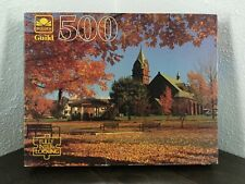 Golden Guild Vermont In Fall 500 Piece Jigsaw Puzzle SEALED